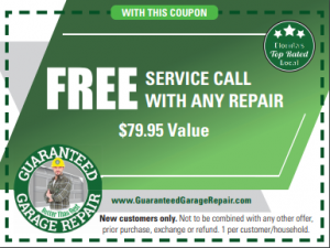 Garage Repair Coupon