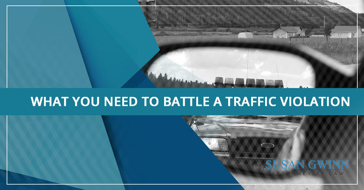What You Need to Battle a Traffic Violation