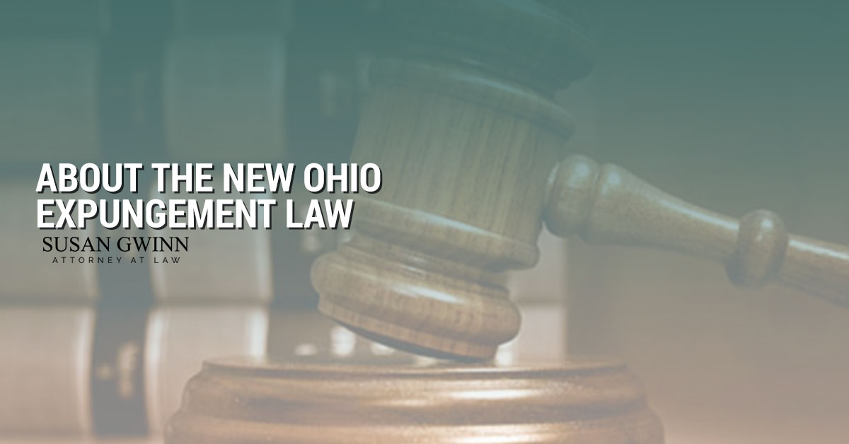 About the New Ohio Expungement Law