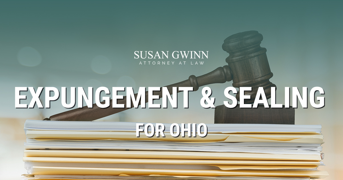 expunging a criminal record in the state of ohio