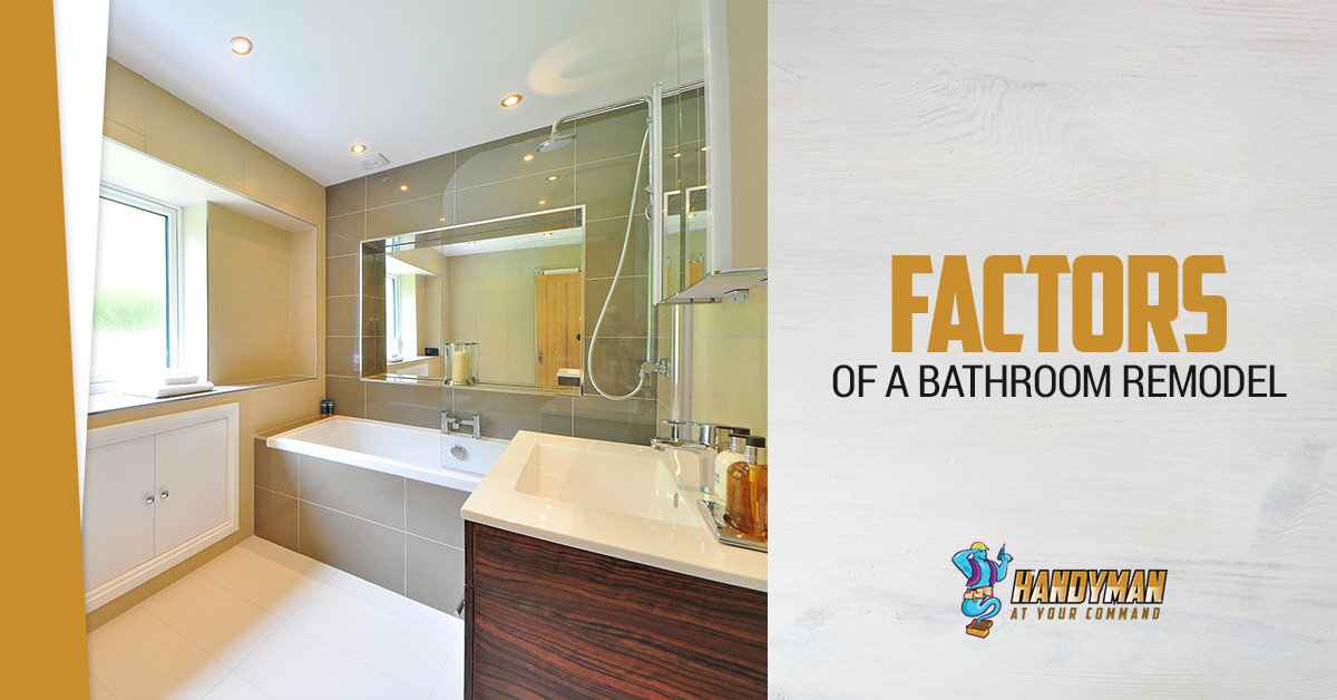 Factors Of Bathroom Renovations Enchanting Bathroom Contractors Nj Set