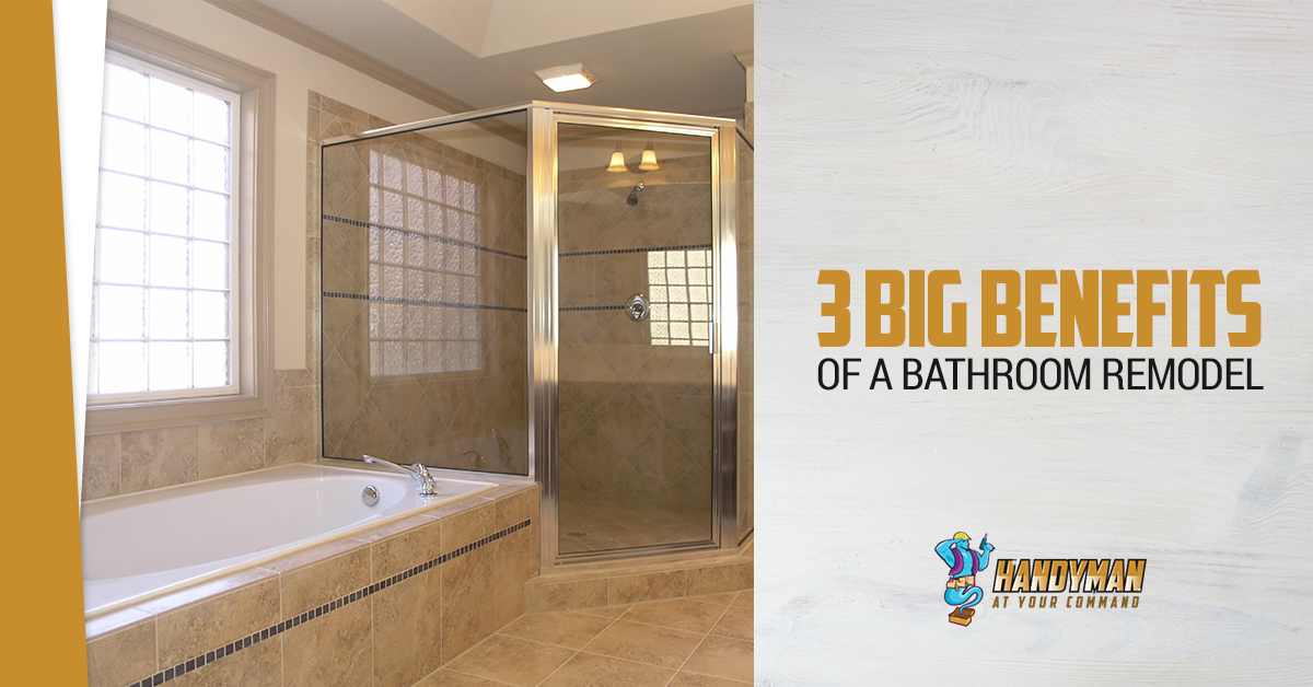 Remodeling Bethesda Big Benefits Of Remodeling Your Bathroom - Handyman bathroom remodel