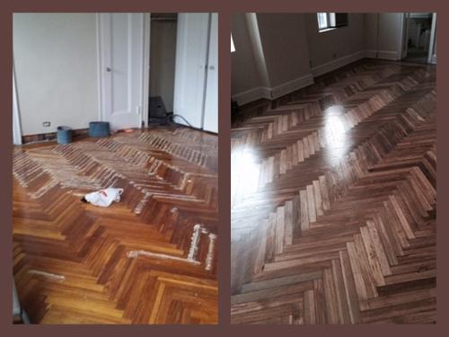 Hardwood Sanding and Refinishing in Manhattan