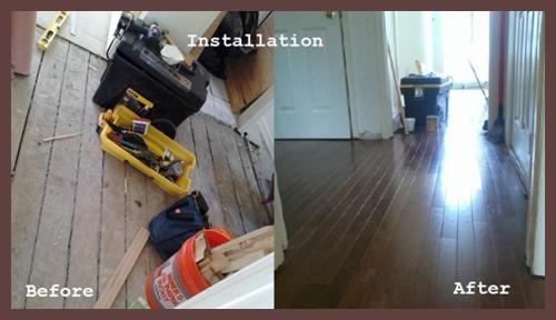 Hardwood Floor Installation Manhattan Wood Floor Installation