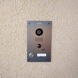 DoorBird camera and doorbell installation Harmonic Series in Fort Collins