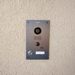 DoorBird camera and doorbell installation Harmonic Series in Fort Collins