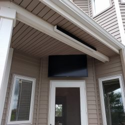 outdoor television installation Harmonic Series in Fort Collins