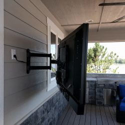 outdoor television mounting Harmonic Series in Fort Collins