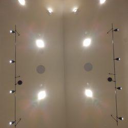 lighting and speaker integration Harmonic Series in Fort Collins