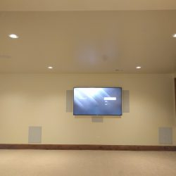 custom tv set mounting by Harmonic Series in Fort Collins