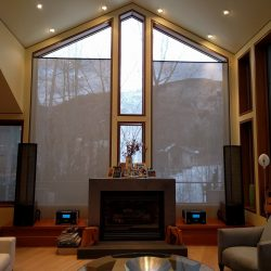 home theater installation by Harmonic Series in Fort Collins