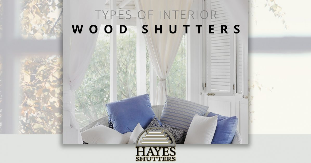 Indoor Shutters Marietta: Types of Interior Wood Shutters