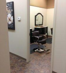 Inside Head Hunters Lice Treatment Facilitiy Room