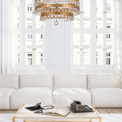 Crystorama Perla Living Room Lighting at Hermitage