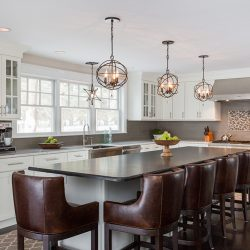 Crystorama Solaris Kitchen Lighting at Hermitage in Nashville