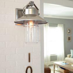 Feiss Boynton Lantern Outdoor Lights at Hermitage Gallery