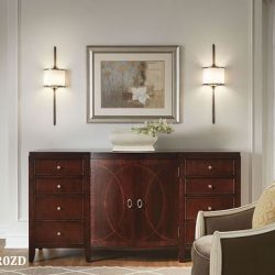 Kichler Mona Living Room Wall Sconces at Hermitage Lighting Gallery