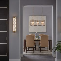 Kichler Vance Dining Room Lighting at Hermitage Gallery