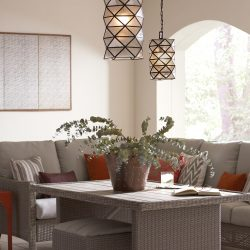 Sea Gull Harambee Patio Pendant Lighting at Hermitage Gallery