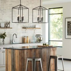 Sea Gull Perryton Kitchen Lighting at Hermitage