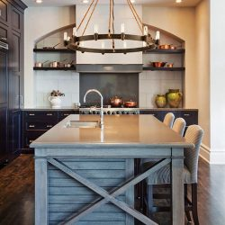 Troy Pike Place Kitchen Lighting at Hermitage in Nashville