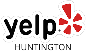 Yelp Huntington Logo