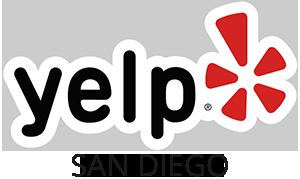 Yelp San Diego Logo