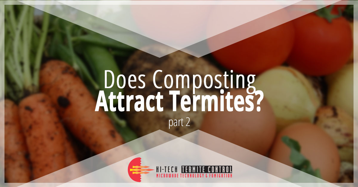 Does Composting Attract Termites Banner Two