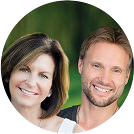 Dana and Jeff, real estate agents for Hidden Hills.