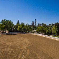 Lots of area for horses to roam in luxury home community, Hidden Hills.