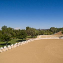 lots of area for horses to roam in Hidden Hills real estate community.