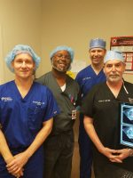 Treatment team for first Prostate HIFU case in Houston.
