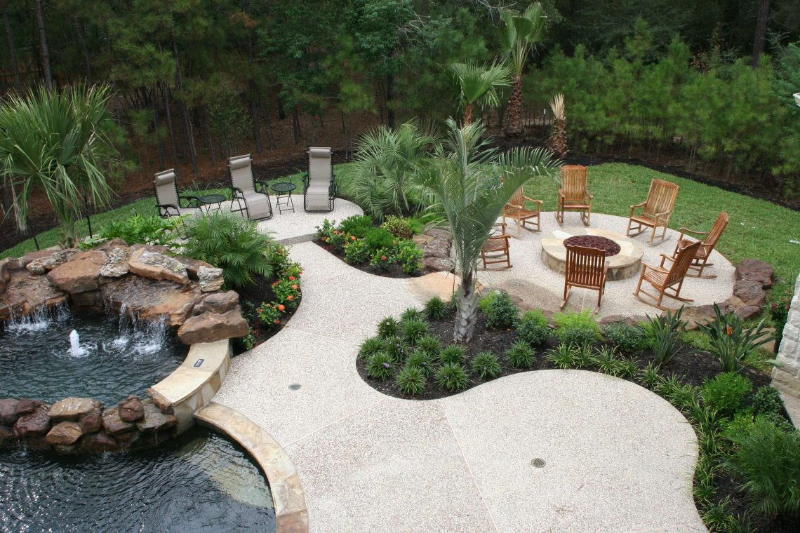 Outdoor Living Rooms Check Out The Fire Pits Pergolas And More