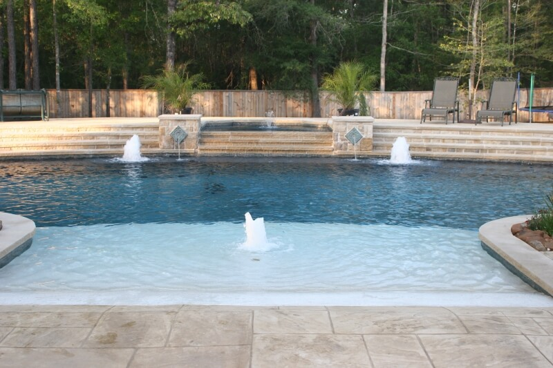 Swimming Pool Water Features Find Out Just How Amazing Your Pool