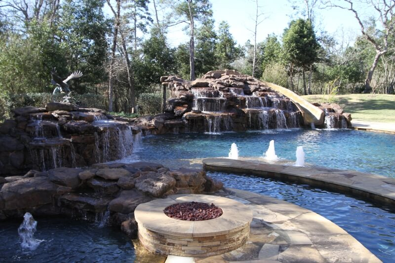 Pool Water Features Spring Texas: Amazing Upgrade To Your Pool