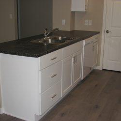 A nice, modern kitchen.