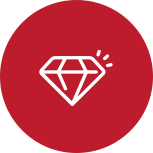 A vector image of a diamond.