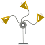 accent lamp icon