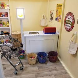 Play grocery store checkout - Home Away From Home West Boynton Beach daycare location