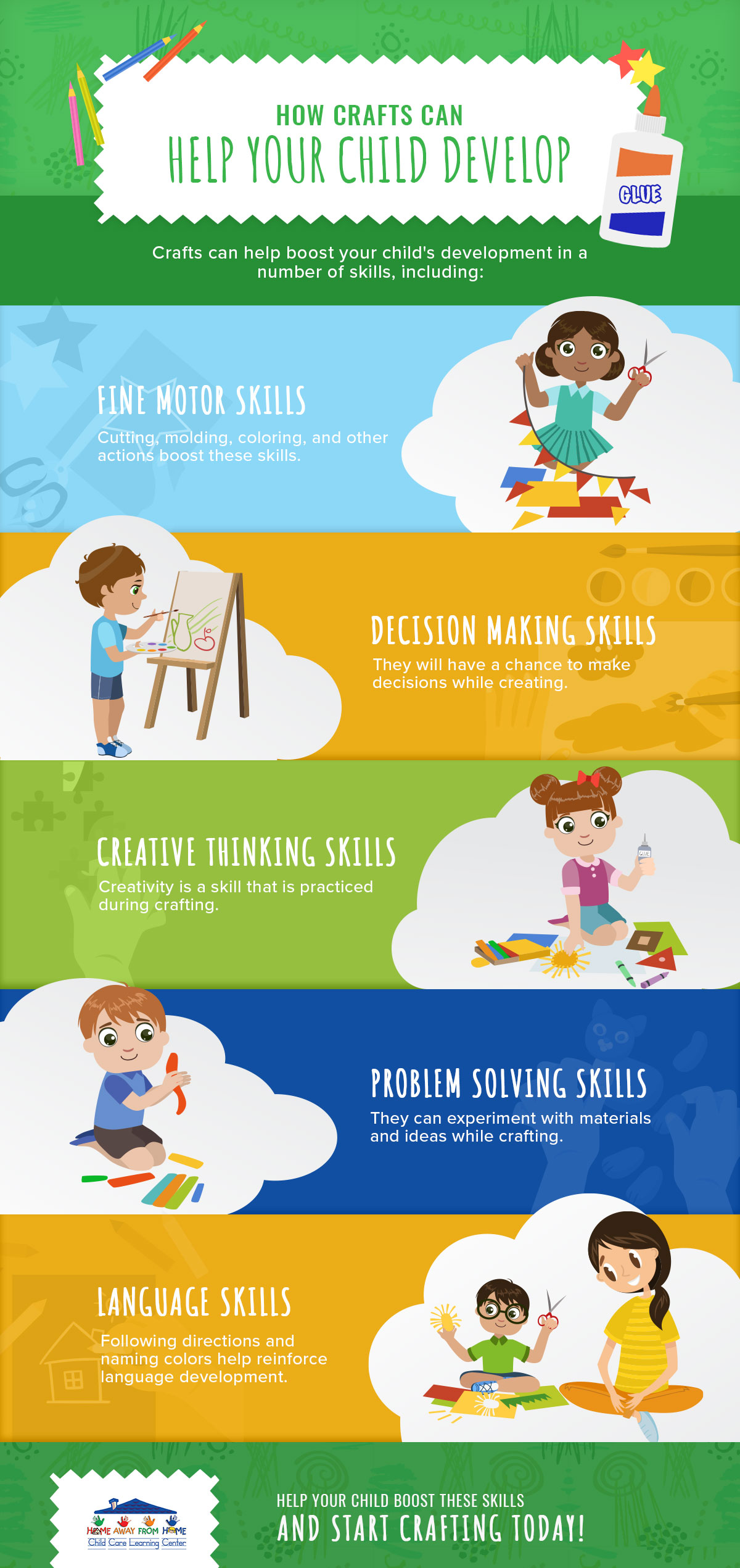 Benefits of Crafts for Kids - Infographic Crafting 5fbc0db0ec0f6