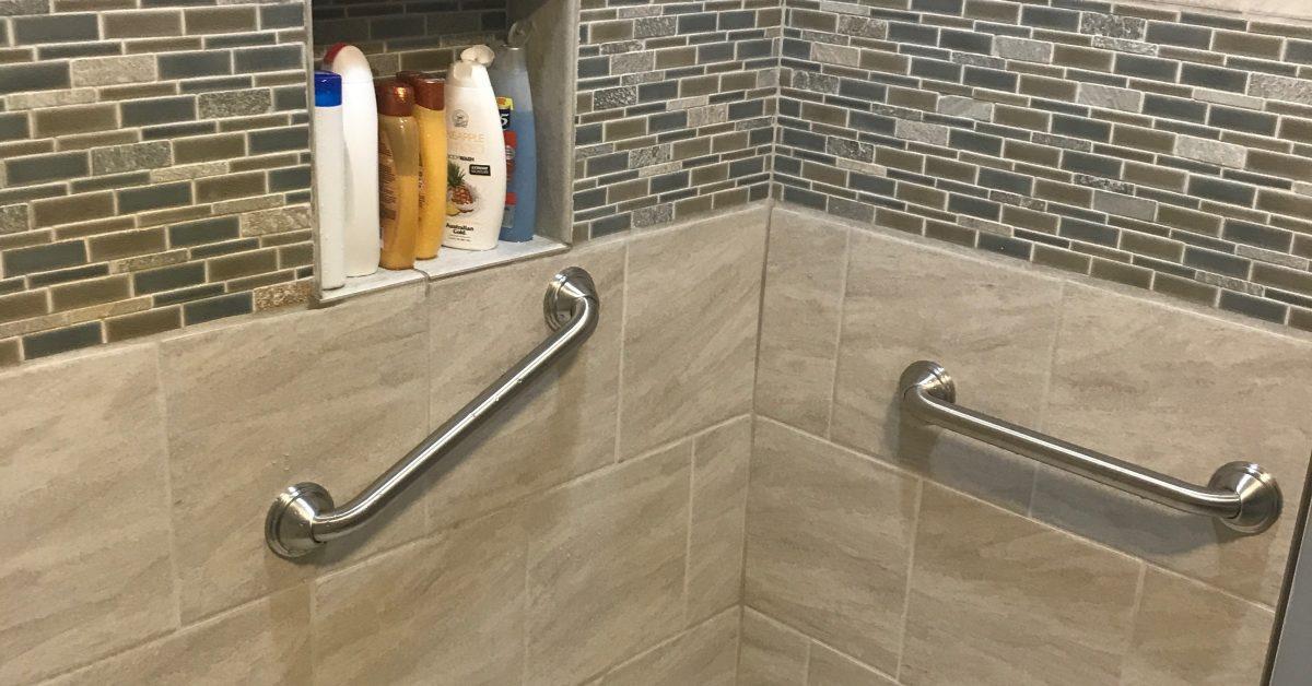 shower grab rails