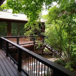New decking and handrails