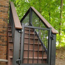 TimberTech gate