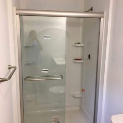 new shower enclosure