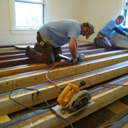 nailing sister joists