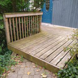 old platform deck