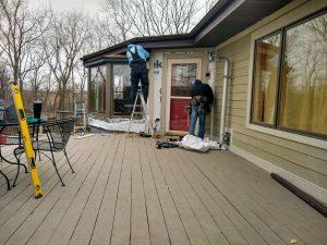 installing home siding and trim
