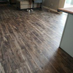 restored wood flooring
