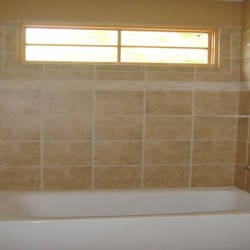 Well-placed tile completes any bathroom remodeling project.