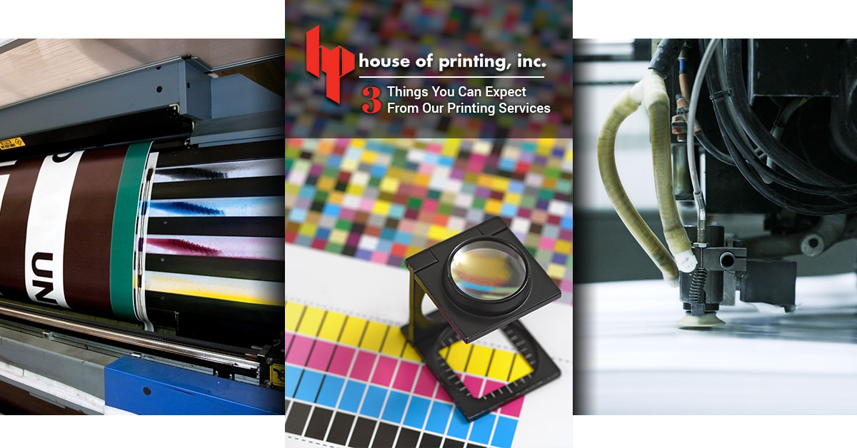 3 Things You Can Expect From Our Printing Services